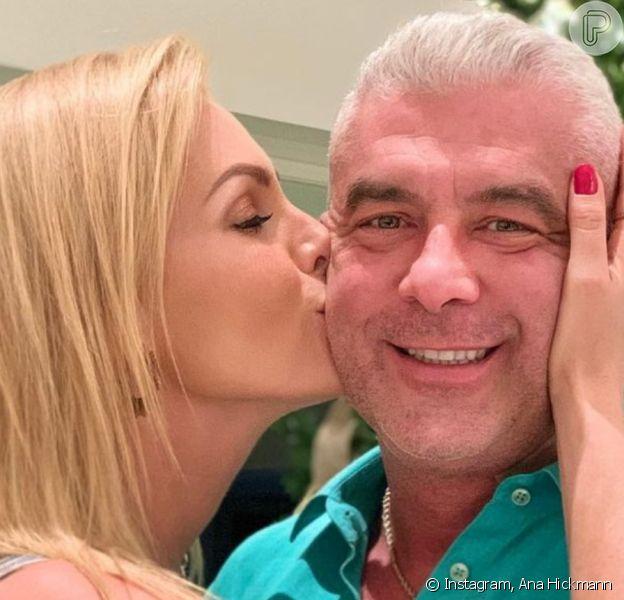 Marido de Ana Hickmann coloca sonda após perder 13 kg durante tratamento de câncer: 'Debilitado'