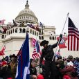 O Capitólio dos EUA foi invadido por manifestantes apoiadores do ex-presidente dos Estados Unidos Donald Trump