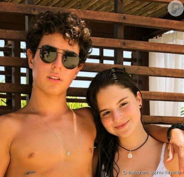 Sophia Valverde lamentou distância de Igor Jansen, por quem vem sendo apontada como namorada