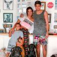 Além de Wallace, Carol Nakamura também é mãe do jovem  Juan