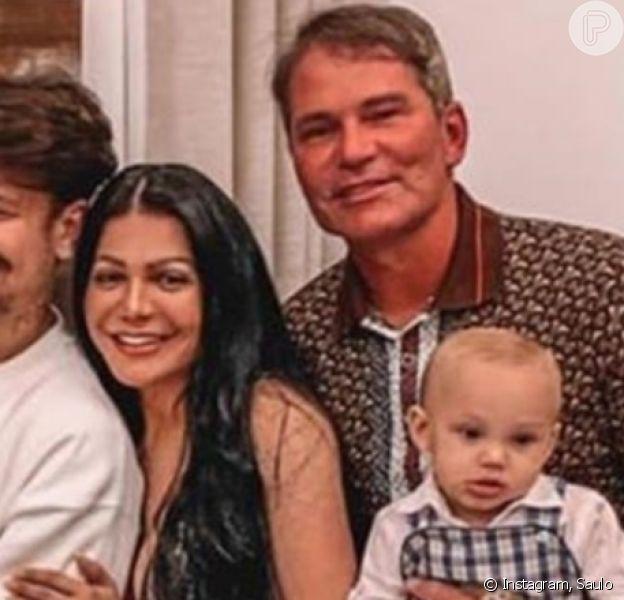 Pai de Saulo Poncio anuncia fim do casamento com Simone Poncio