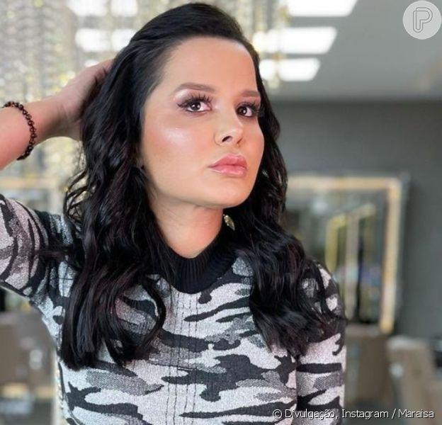 Maraisa corta o cabelo e exibe novo visual na web, em 06 de fevereiro de 2021