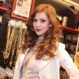 Sophia Abrhão levou três dias para atingir o ruivo desejado em 2013  para personagem de 'Amor à Vida'