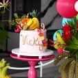 Festa de 9 meses da filha de Ana Paula Siebert e Roberto Justus foi decorada com balões e flores