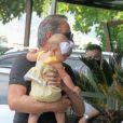 Roberto Justus é casado com Ana Paula Siebert desde 2015. Empresário e influencer são pais de Vicky, 9 meses