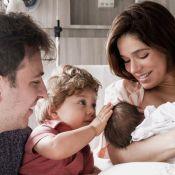 Sabrina Petraglia guarda leite para amamentar filha: 'No fim do dia peito está mais vazio'