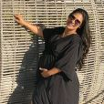 Simone ganha 23 kg na gravidez de Zaya