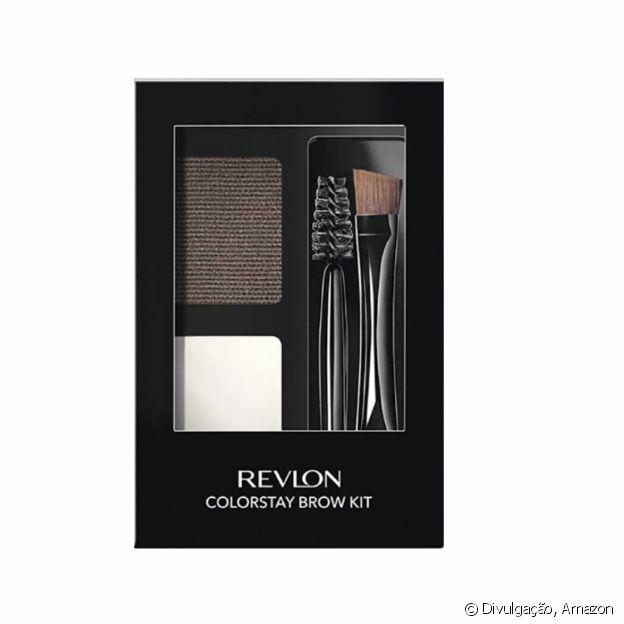 Colorstay Brow Kit Dark Brown, da Revlon