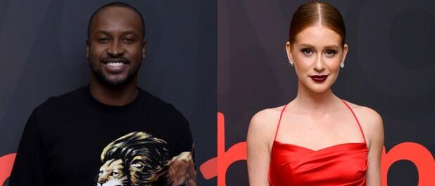Marina Ruy Barbosa esclarece relação com Thiaguinho e cantor apoia atriz: 'Gente doida'