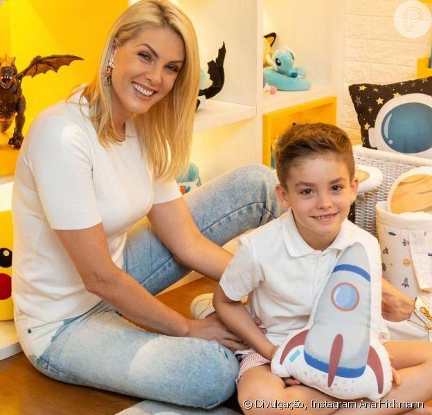 Ana Hickmann e o filho, Alezinho, comemoraram juntos seus aniversários