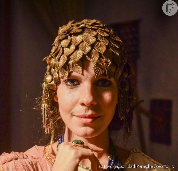 'Gênesis' marca volta de Giovana Echeverria às novelas após 3 anos, como a rainha Kiria