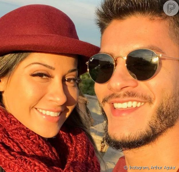 Arthur Aguiar confirma reconciliação com Mayra Cardi