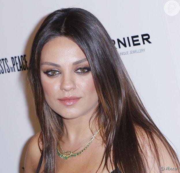 Mila Kunis está obcecada pela saúde de sua primeira filha, Wyatt Isabelle Kutcher