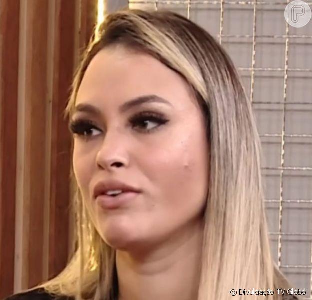 Eliminada do 'BBB 21', Sarah explicou afastamento do 'G3': 'Projota falava mal da Juliette e ela defendia ele'