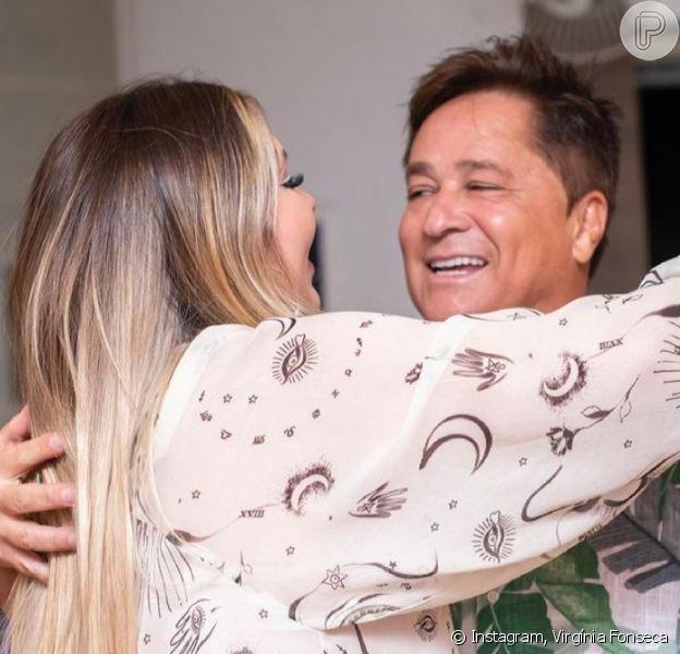 Grávida de Zé Felipe, Virgínia Fonseca chora com homenagem dos sogros em festa de aniversário. Vídeo!