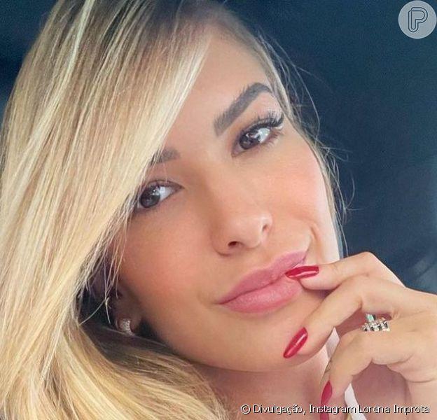 Lorena Improta abriu sei diário de gravidez com os fãs