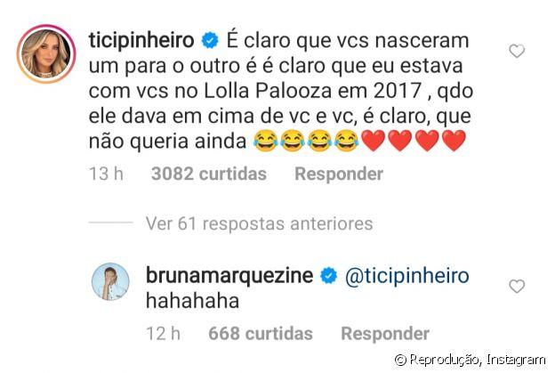 Enzo Celulari tentava ficar com Bruna Marquezine desde 2017