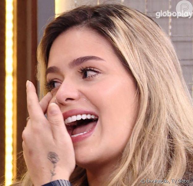 Viih Tube chora muito em primeiro encontro com o namorado após o 'BBB21'