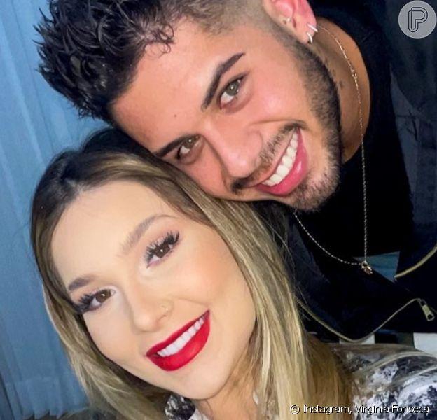 Relacionamento com Zé Felipe foi 'muito rápido', segundo Virgínia Fonseca