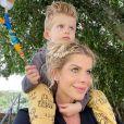 Filho de Karina Bacchi, Enrico ganhou nome de Amaury Nunes em certidão de nascimento