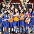 Raissa Chaddad atuou em 'Chiquititas' com Sophia Valverde (na foto segurando uma boneca)