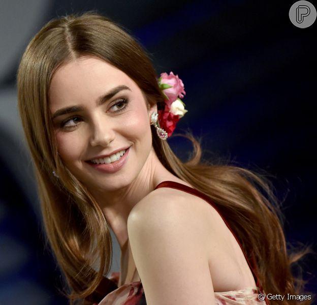Trends de maquiagem de Lily Collins: as escolhas da atriz