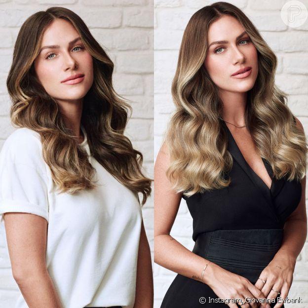 Antes e depois de Giovanna Ewbank