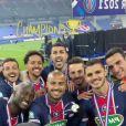 Neymar foi campeão da Copa da França com o PSG