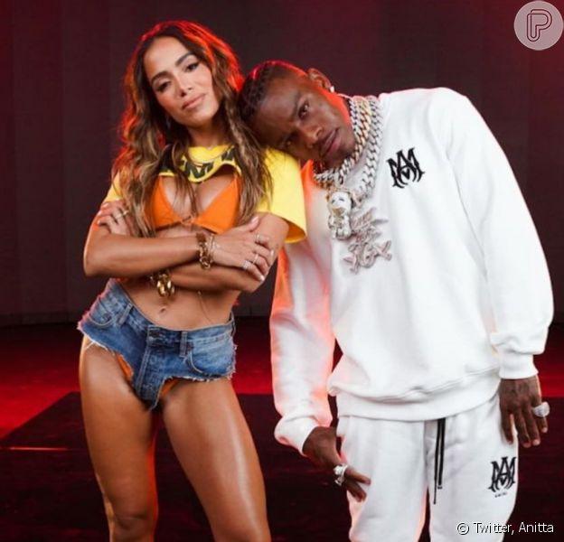 Anitta causa de microshort em lançamento remix de 'Girl From Rio'