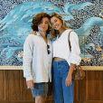 Sasha Meneghel e João Figueiredo combinaram look ao deixarem Dubai
