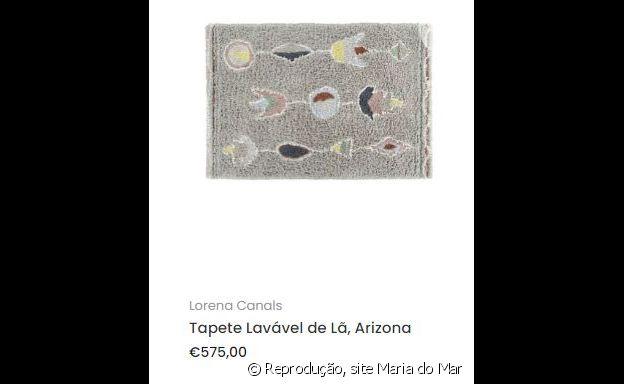 O tapete escolhido por Giovanna Ewbank para decorar o quarto dos filhos é feito em lã lavável