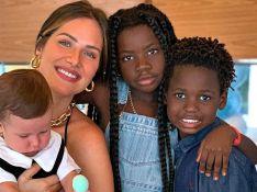 Cama de R$ 12 mil e tapete de 3,5 mil: Giovanna Ewbank monta quarto dos filhos em Portugal