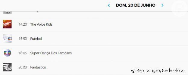 Programação da Globo não tem mais 'Domingão do Faustão'