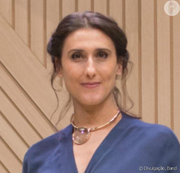 Paola Carosella reagiu após internauta ter duvidado de vacina contra a Covid-19 que ela tomou