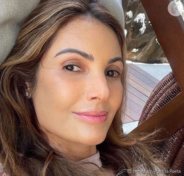 Patrícia Poeta mostra sua primeira tattoo nas redes sociais
