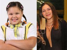 Filha de Simony, Aysha Benelli relembra a novela 'Carrossel' e mostra antes e depois. Veja!