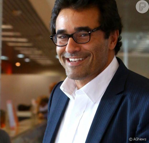 Luciano Szafir segue intubado na UTI por complicações de Covid-19 e muda de hospital