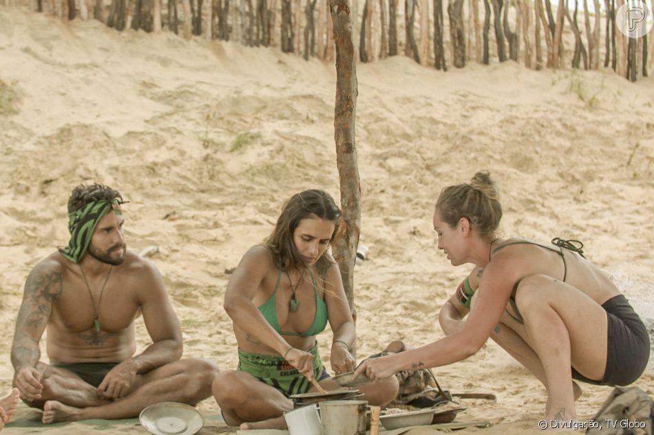 Carol Peixinho a princípio foi shippada com Bil Araújo no programa