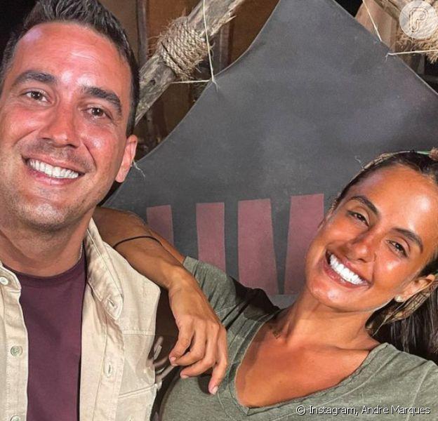 Andre Marques e Carol Marques juntos? Esse é o pedido de fãs do programa 'No Limite'