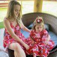 Thaeme Mariôto notou que a filha, Liz, chegou a mudar seu comportamento com a gravidez dela