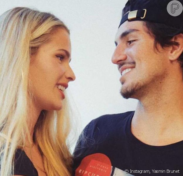 Gabriel Medina revela a Yasmin Brunet: 'Quero ser pai'