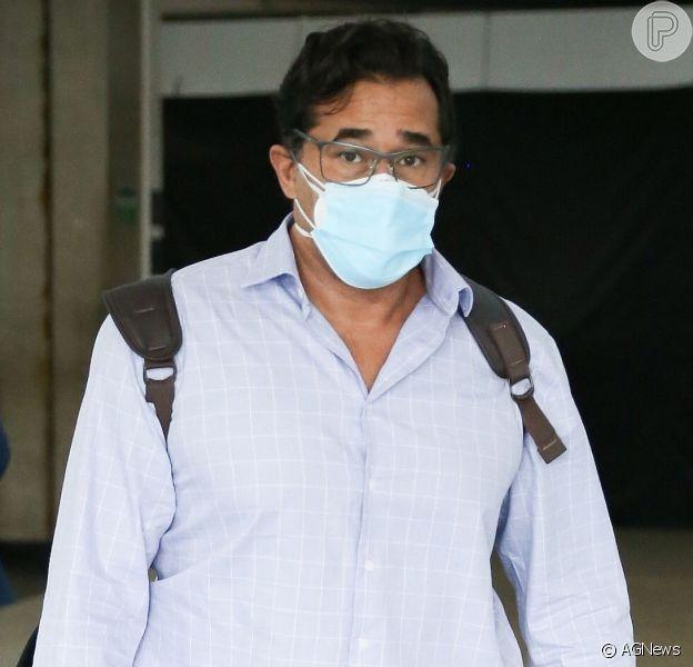 Luciano Szafir agradece apoio durante internação por complicações de Covid-19