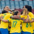 Brasil chegou a golear o Canadá no futebol feminino mas acabou eliminado para o Canadá na Olimpíada de Tóquio