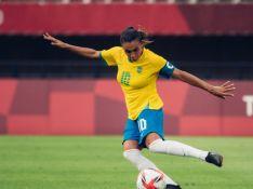 Marta Silva pede apoio ao futebol feminino após eliminação na Olimpíada: 'Não acaba aqui'