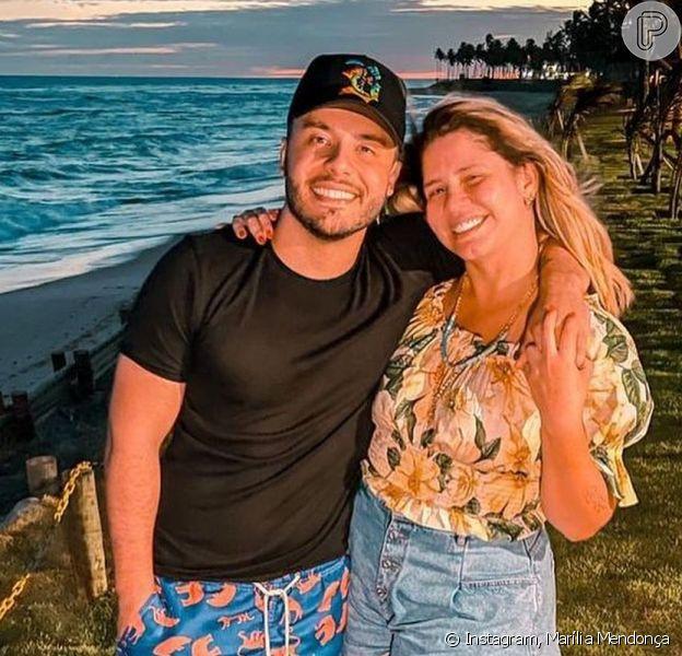 Marília Mendonça abriu sua intimidade com o namorado, Murilo Huff, nesta sexta-feira, 30 de julho de 2021