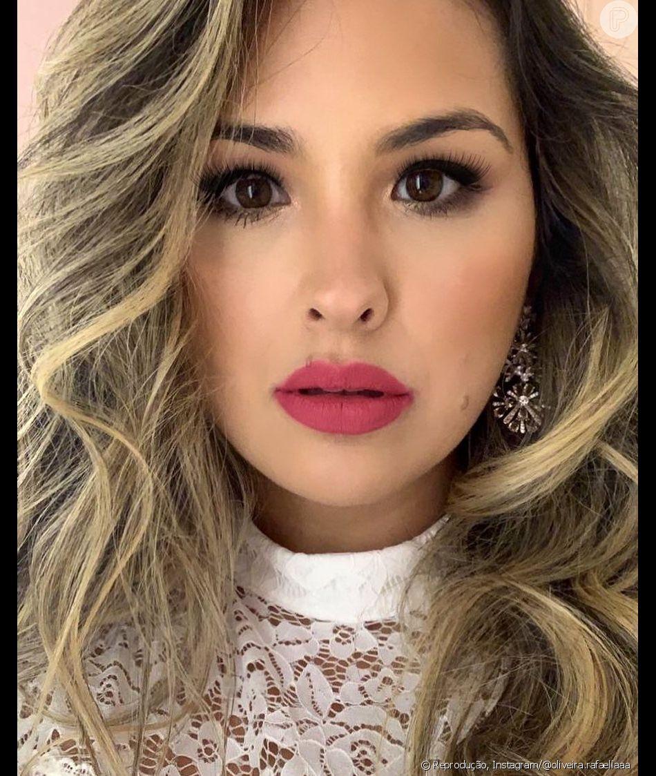Filha mais velha de Cristiana Oliveira, Rafaella é gerente de marketing e parte de seu cotidiano na web