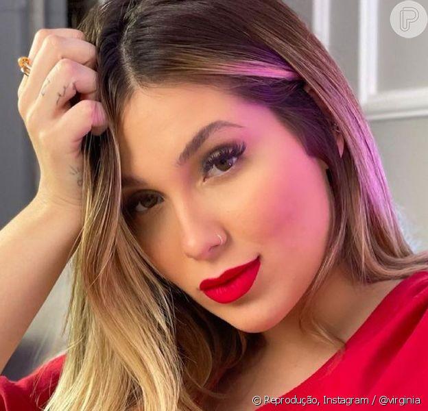 Virgínia faz hidratação no cabelo e pede opinião de Zé Felipe