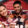 Zé Felipe e Virgínia são pais de Maria Alice, de dois meses e dez dias