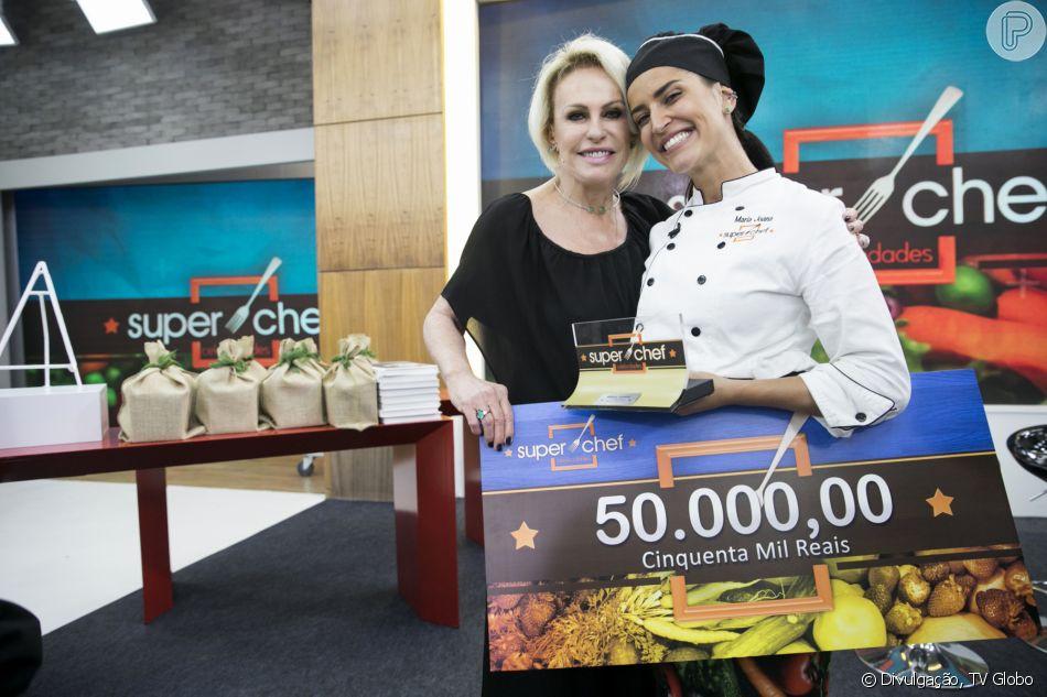 Maria Joana venceu o 'Super Chef Celebridades' em 2018