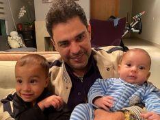 Filho de Camilla Camargo encanta ao mandar mensagem para o avô Zezé Di Camargo. Vídeo!